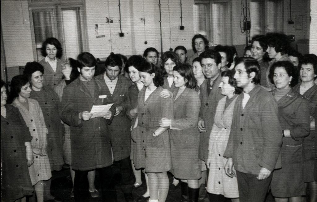 Картонажен цех, 1970 г.