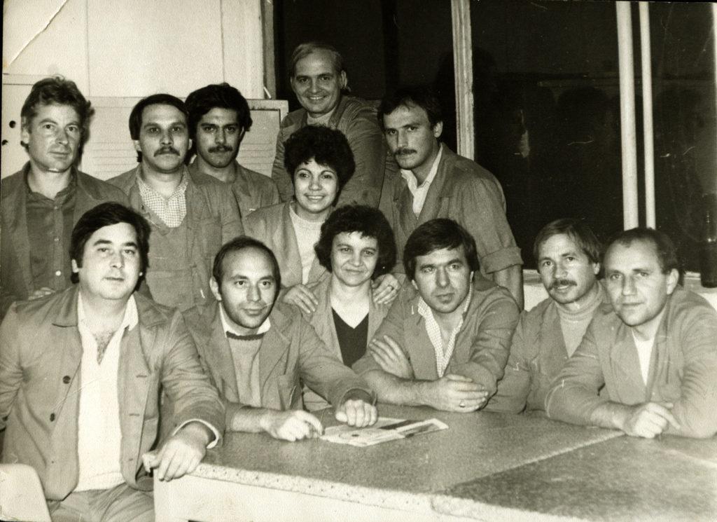 1995 г., цигарено производство, секционни майстори